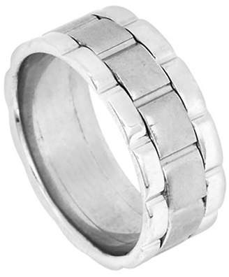 Rolex American Set Co. Men's Platinum 950 Inspired 9mm Comfort Fit Wedding Band Ring size 11.75