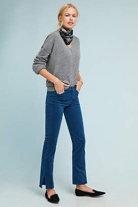 MiH Jeans Daily High-Rise Velvet Straight Jeans