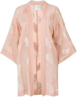 Forte Forte leaf embroidery kimono