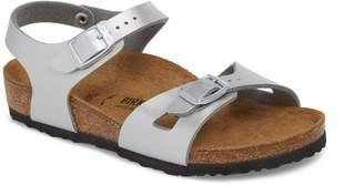 Birkenstock Rio Metallic Sandal
