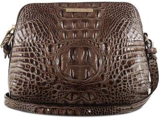 Brahmin Melbourne Sydney Embossed Leather Mini Crossbody