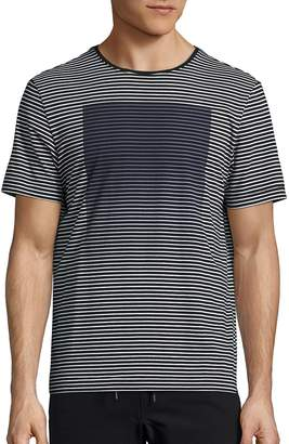 Madison Supply Men's Graphic Striped Tee