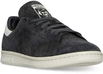adidas Men's Stan Smith Suede Bounce Casual Sneakers from Finish Line