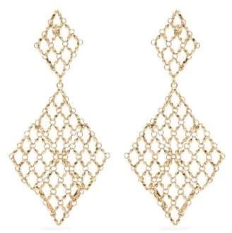Rosantica By Michela Panero - Surreal Drop Earrings - Womens - Gold