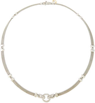 Alor Classique Diamond Interlocking Necklace