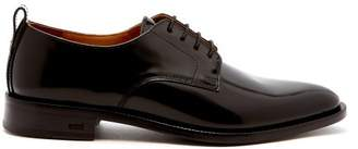 Ami Leather Derby Shoes - Mens - Black