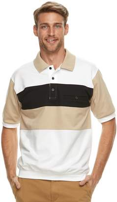 DAY Birger et Mikkelsen Men's Safe Harbor Banded-Bottom Polo
