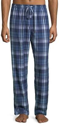 Derek Rose Men's Ranga 31 Plaid Cotton Lounge Pants