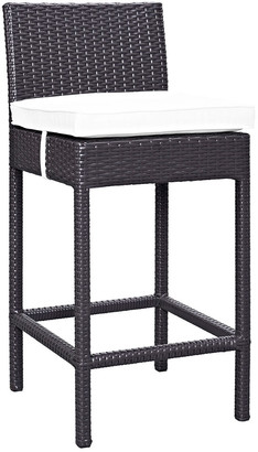Modway Outdoor Lift Bar Stool Outdoor Patio Set