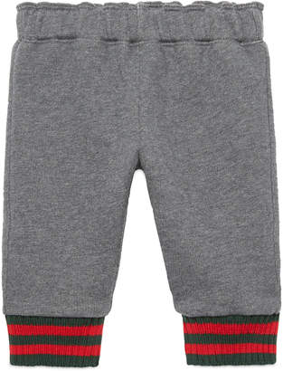 Baby felted cotton jogging pant $175 thestylecure.com