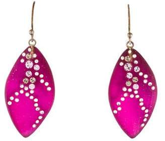 Alexis Bittar Leaf Drop Earrings