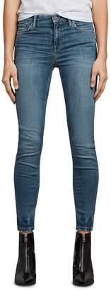 AllSaints Grace Ankle Skinny Jeans in Fresh Blue