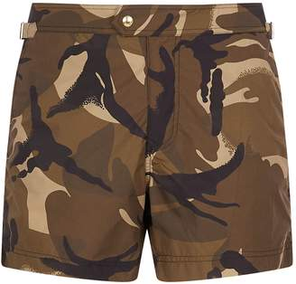 Tom Ford Camouflage Swim Shorts