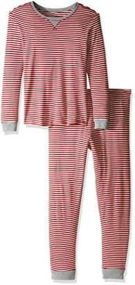 Burt's Bees Baby Women's Adult 100% Organic Cotton Holiday Tee and Pant Pajamas
