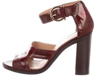 Salvatore Ferragamo Naula Leather Sandals