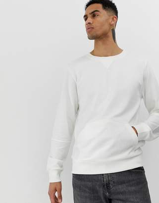 Another Influence Crew Neck Front Pocket Sweat
