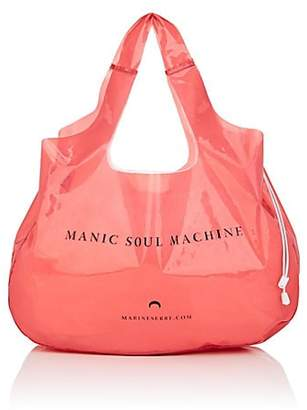 "Marine Serre Women's ""Manic Soul Machine"" Tote Bag - Pink"
