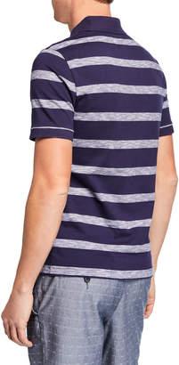 Original Penguin Men's Auto Slub Stripe Polo Shirt