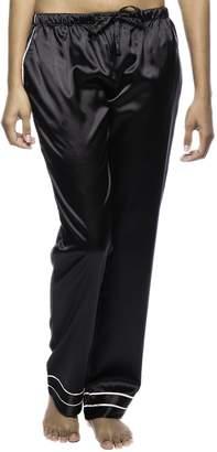f958fb84e6 at Amazon Canada · Noble Mount Women s Classic Satin Lounge Pants - 2XL