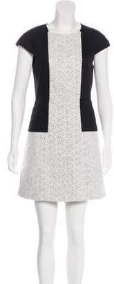 Tibi Linen Mini Dress