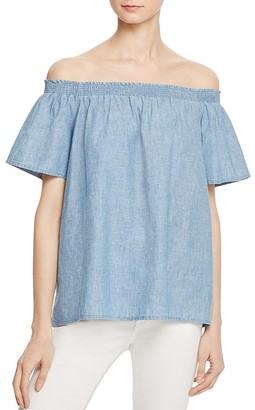Joie Amesti B Off-The-Shoulder Top $178 thestylecure.com