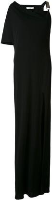 Lanvin one shoulder gown