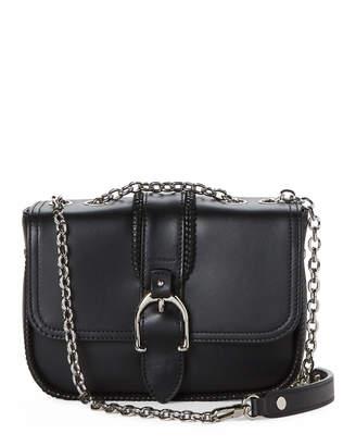 Longchamp Amazone Small Leather Shoulder Bag