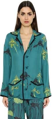Sanchita Hand Embroidered Silk Georgette Shirt