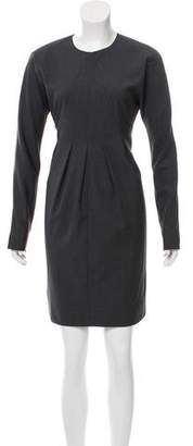 By Malene Birger Long Sleeve Knee-Length Dress