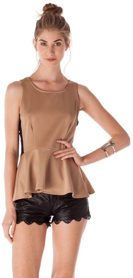 Romeo & Juliet Couture Peplum Top