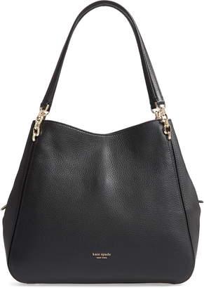 Kate Spade Large Hailey Leather Shoulder Bag