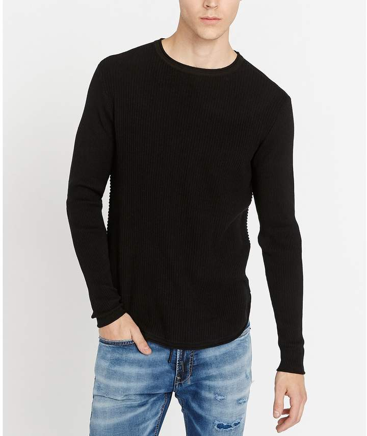 Buffalo David Bitton Wiround Rib Knit Long-Sleeve Pullover