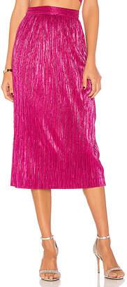 For Love & Lemons Marion Midi Skirt