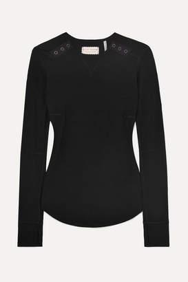 Erin Snow - Rye Merino Wool-blend Top - Black