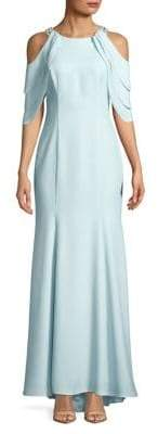 Betsy & Adam Cold Shoulder Gown