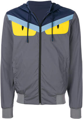 Fendi hooded zip jacket