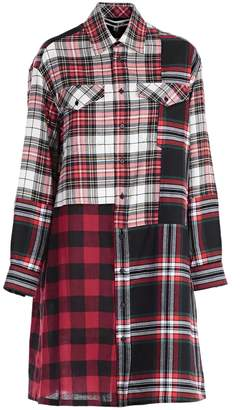 McQ Check Shirt Dress