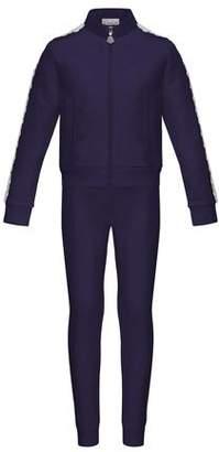 Moncler Terri Lace-Trim Jacket w/ Joggers, Size 4-6