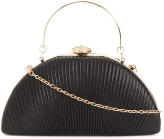 Framed Evening Bag With Jewel Closure