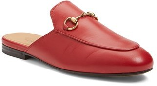 Women's Gucci 'Princetown' Loafer Mule $595 thestylecure.com