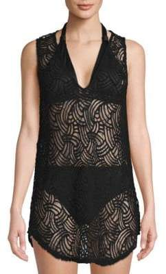 BCBGMAXAZRIA Knit Cover-Up Tunic