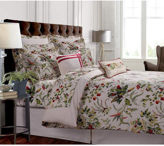 Tribeca Living Maui 300 Thread Count Cotton Oversized King Duvet Cover Set Bedding