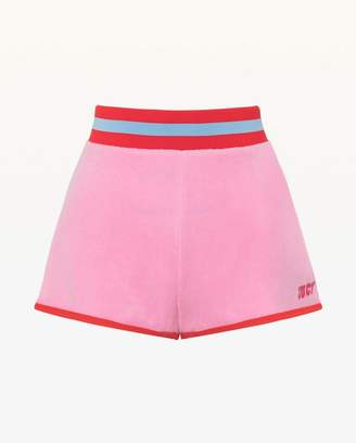 Juicy Couture Jxjc Juicy Logo Microterry Short