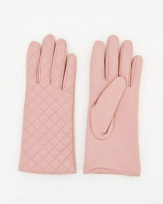 Le Château Quilted Leather Glove