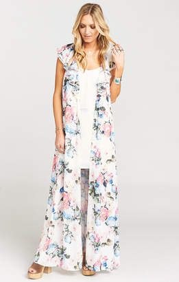 Show Me Your Mumu Rapunzel Cape Dress ~ Sweet Floral