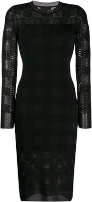 Rag & Bone slim fit tartan dress
