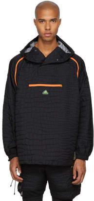 adidas x Kolor Black Nylon Embossed Jacket
