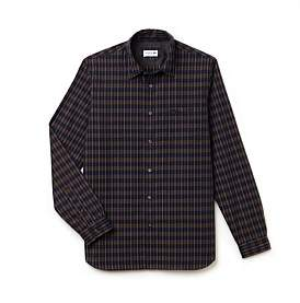 Lacoste Reg Fit Dobby Check Shirt
