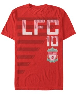 Liverpool Football Club Men's On The Field Number 10 Short Sleeve T-Shirt