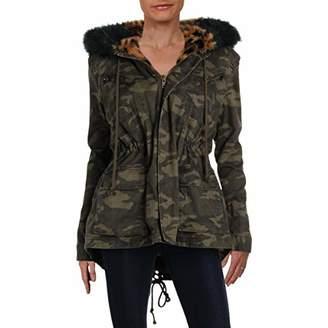 Pam & Gela Women's Parka with Faux Fur